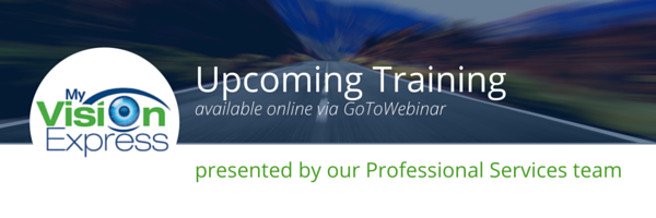 Upcoming Training Webinars: Fall 2015