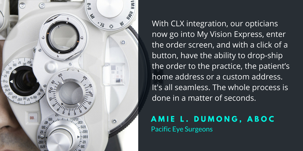 CLX System and My Vision Express