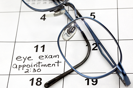 Calendar (Appointments) | Features | My Vision Express